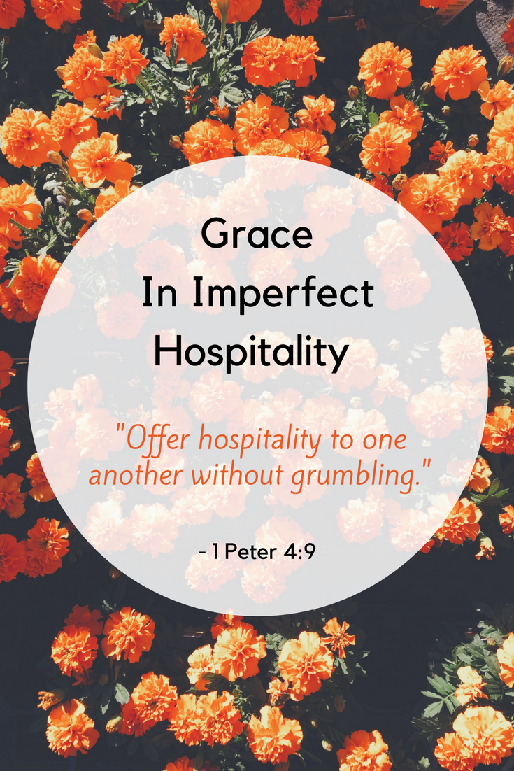 Grace In Imperfect Hospitality