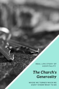 The Church's Generosity