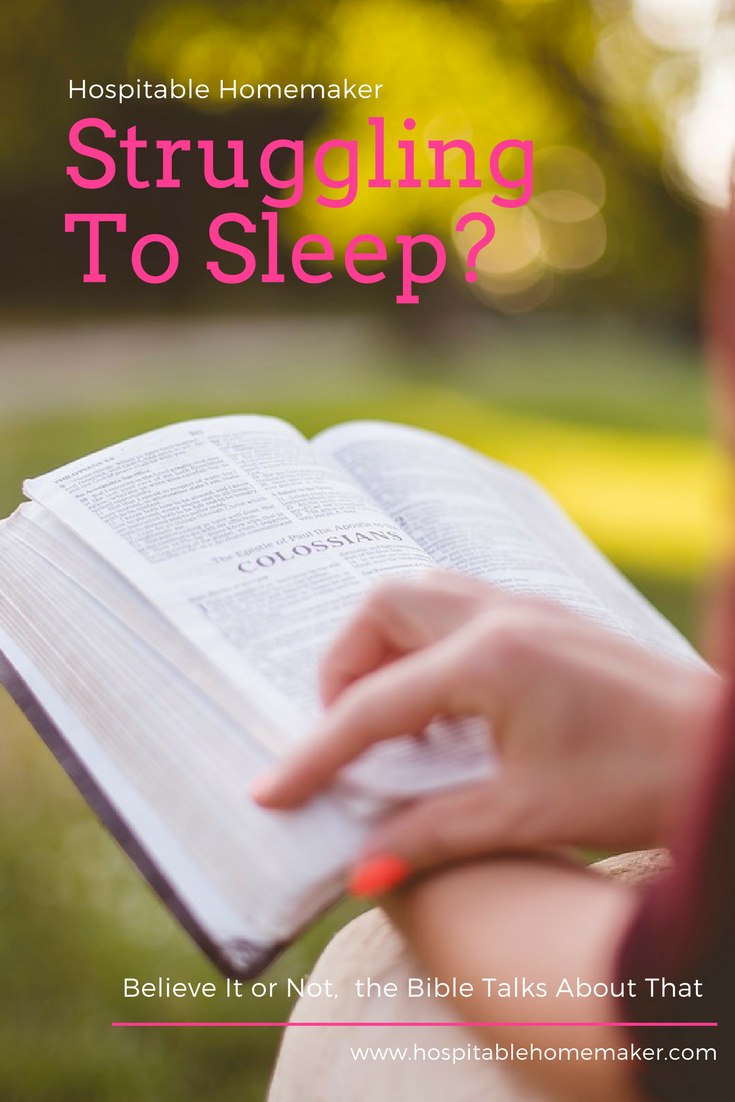 Can't Sleep – How to Rest in God ((FREE Printable!))
