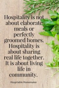The Importance of Being Hospitable -- Part 2 in the Hindrances to Hospitality Series