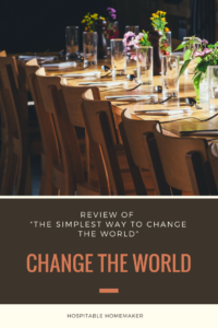 Book Review: The Simplest Way to Change the World