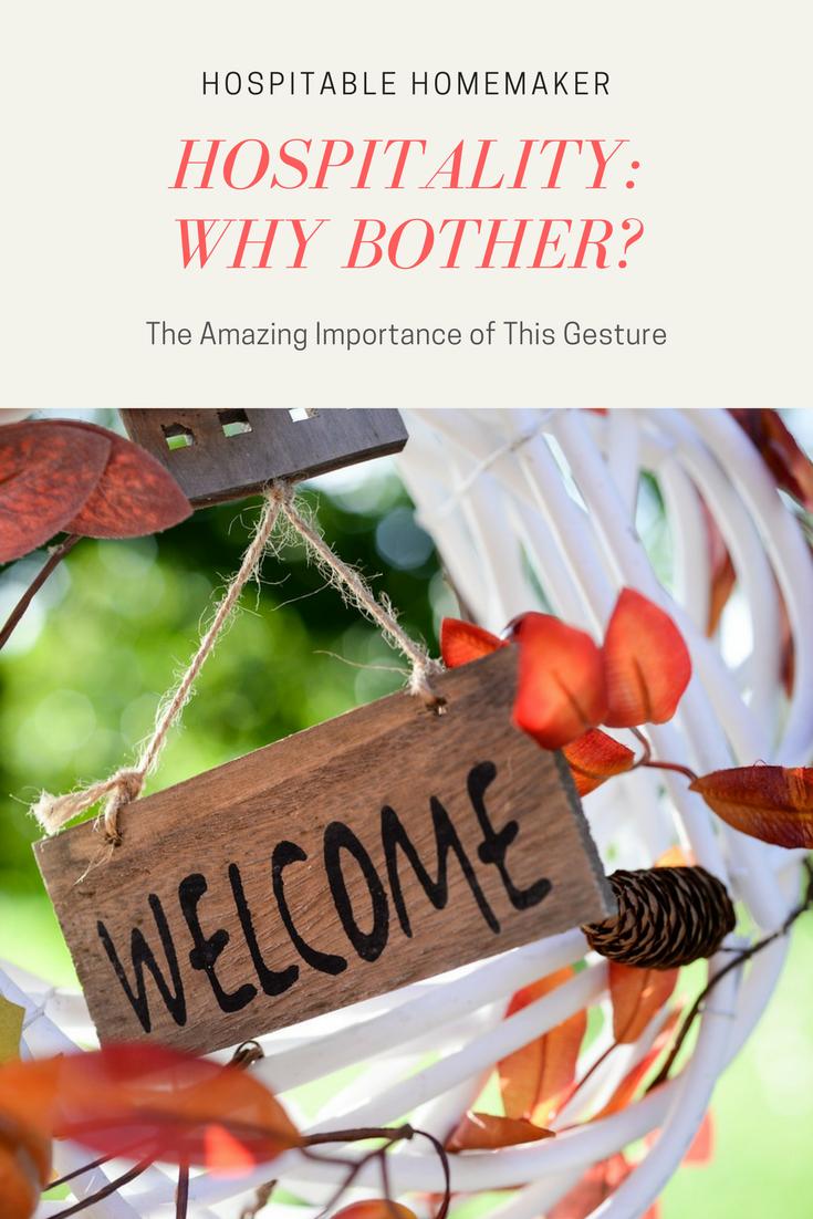 The Importance of Hospitality – Hindrances to Hospitality Part 2