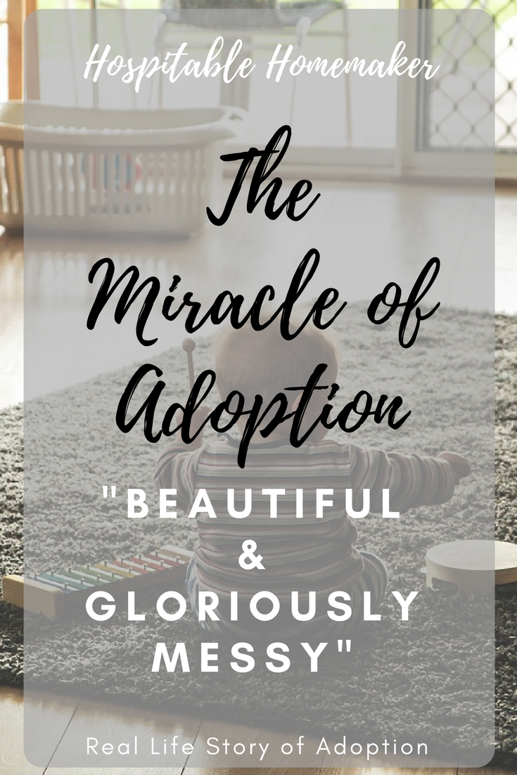 """Beautiful and Gloriously Messy"" A Real Life Story about the Miracle of Adoption"