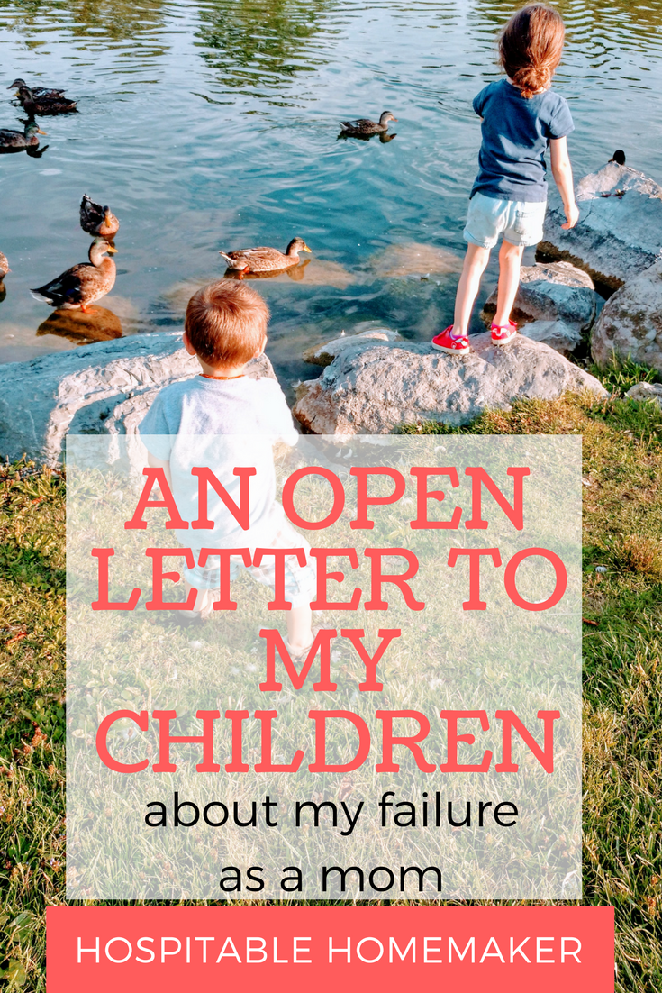 open letter to my mom a s open letter to children about own failure 46866
