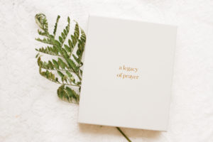 legacy of prayer book and fern