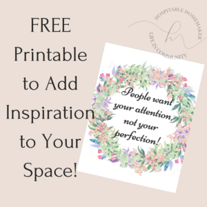 photo of the printable offered to add inspiration to your kitchen