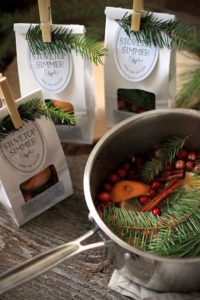 stovetop potpourri as a neighbor Christmas gift