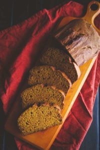pumpkin bread as neighbor christmas gift