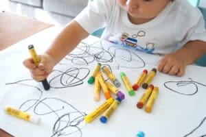 child drawing - creating a welcoming home