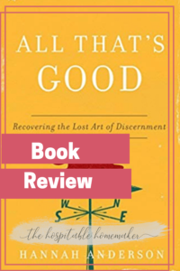 all that's good book cover
