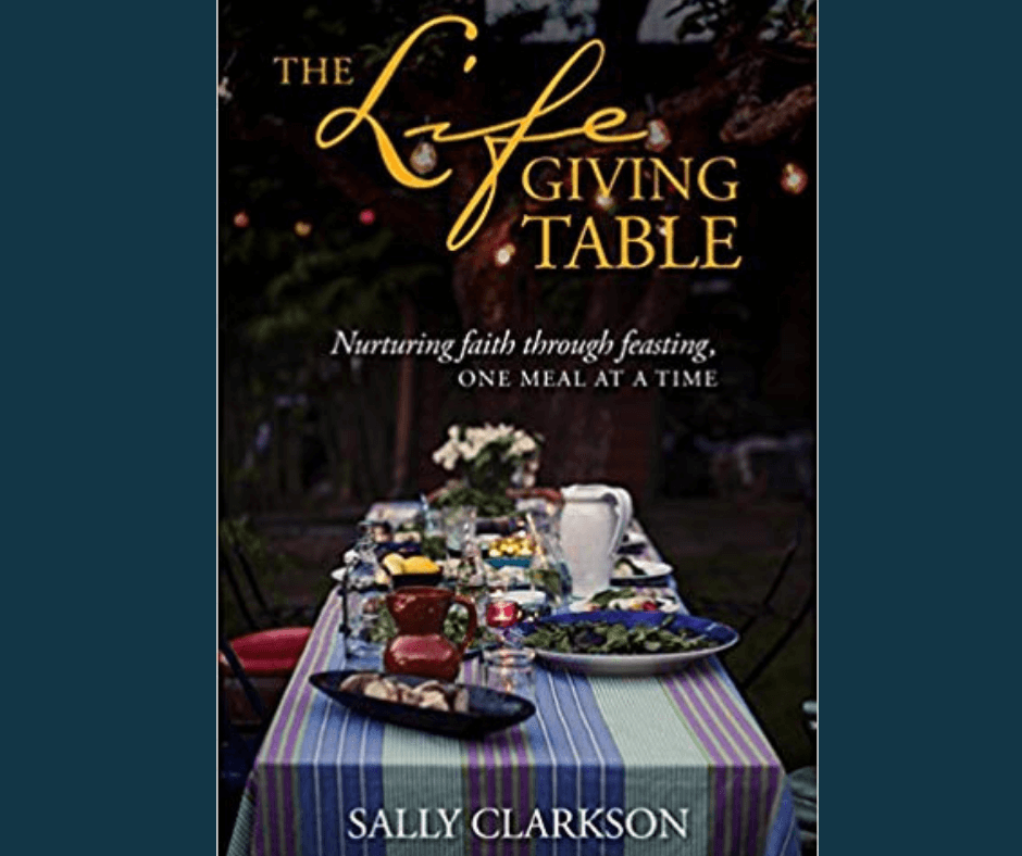 life giving table book cover