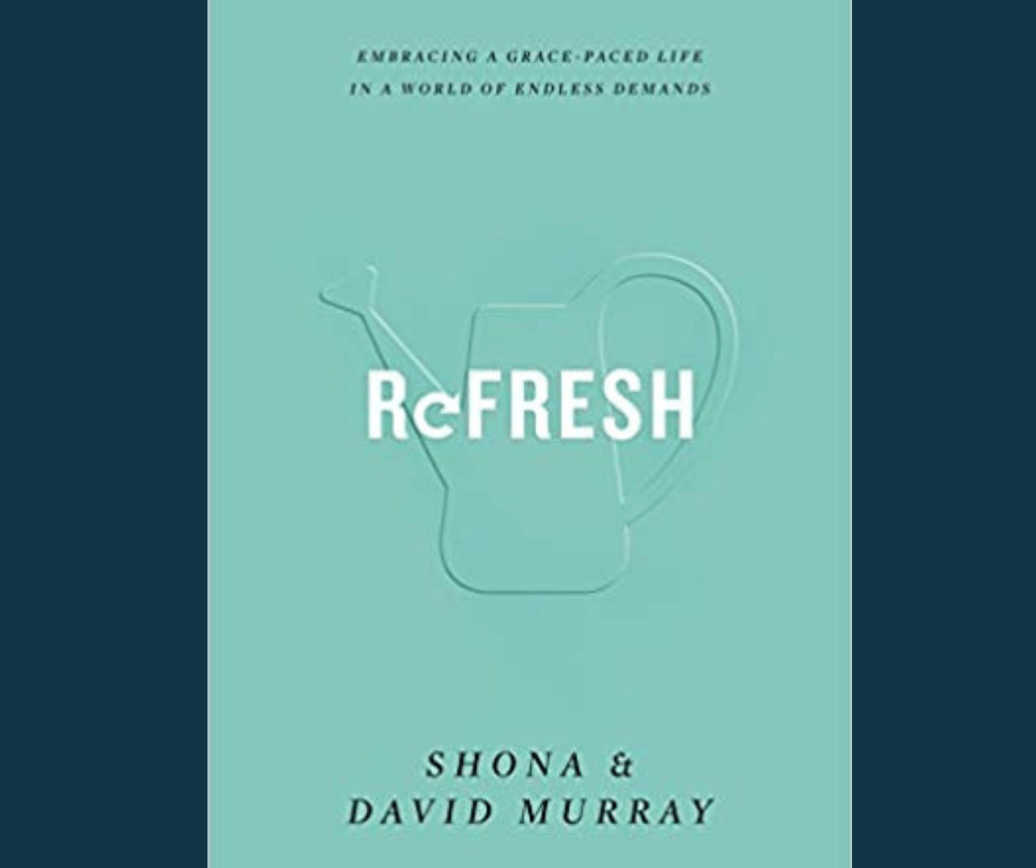 refresh book cover